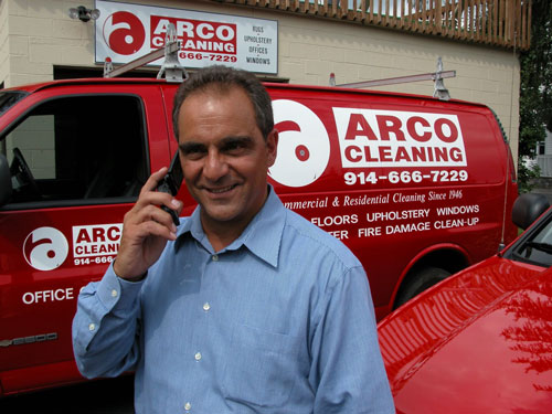 George Arco - Arco Cleaning, a Westchester cleaning company